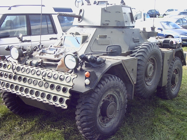 Daimler Ferret Vehicle Register